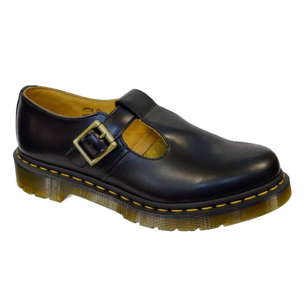 dr martens polley black yel z26 14852001 womens shoes all sizes ebay. Black Bedroom Furniture Sets. Home Design Ideas