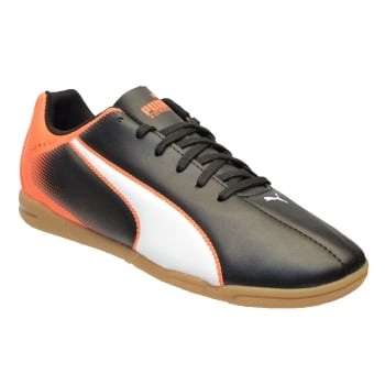 Puma Adreno IT Black-White-Lava Blast (Z153) 103451-05 Mens Trainers