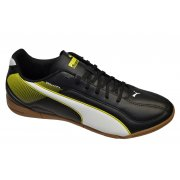 Puma Esquadra IT Black-White-Blazing Yellow (Z11) 103128-03 Mens Trainers