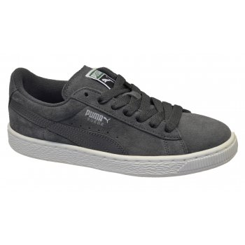 PUMA Suede Classic Juniors Eco NM Shadow-Puma Silver (N1a) 355716-03 Trainers