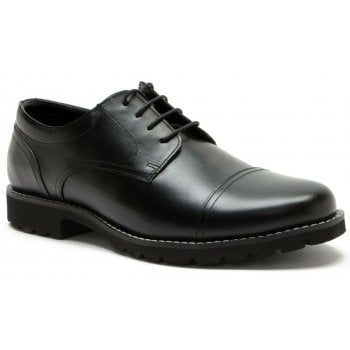 Red Tape Hinton Black Leather (G1) MK065812/01 Mens Shoes