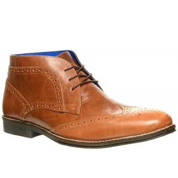 Red Tape Milton Leather Tan (N20) M1979/03 Mens Boots