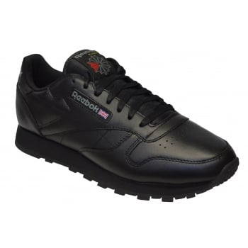 Reebok Classic Leather Black (Z163) 2267 Mens Trainers