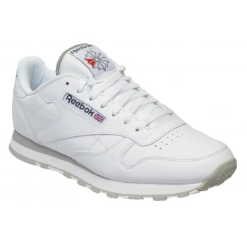 Reebok Classic Leather White (SC-B4) 2214 Mens Trainers
