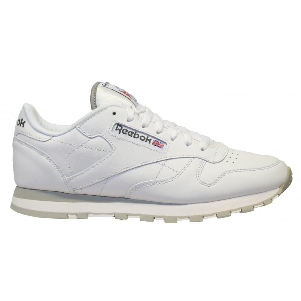 Reebok Classic Para Hombre Zapatillas Blancas KY5JiDSeW