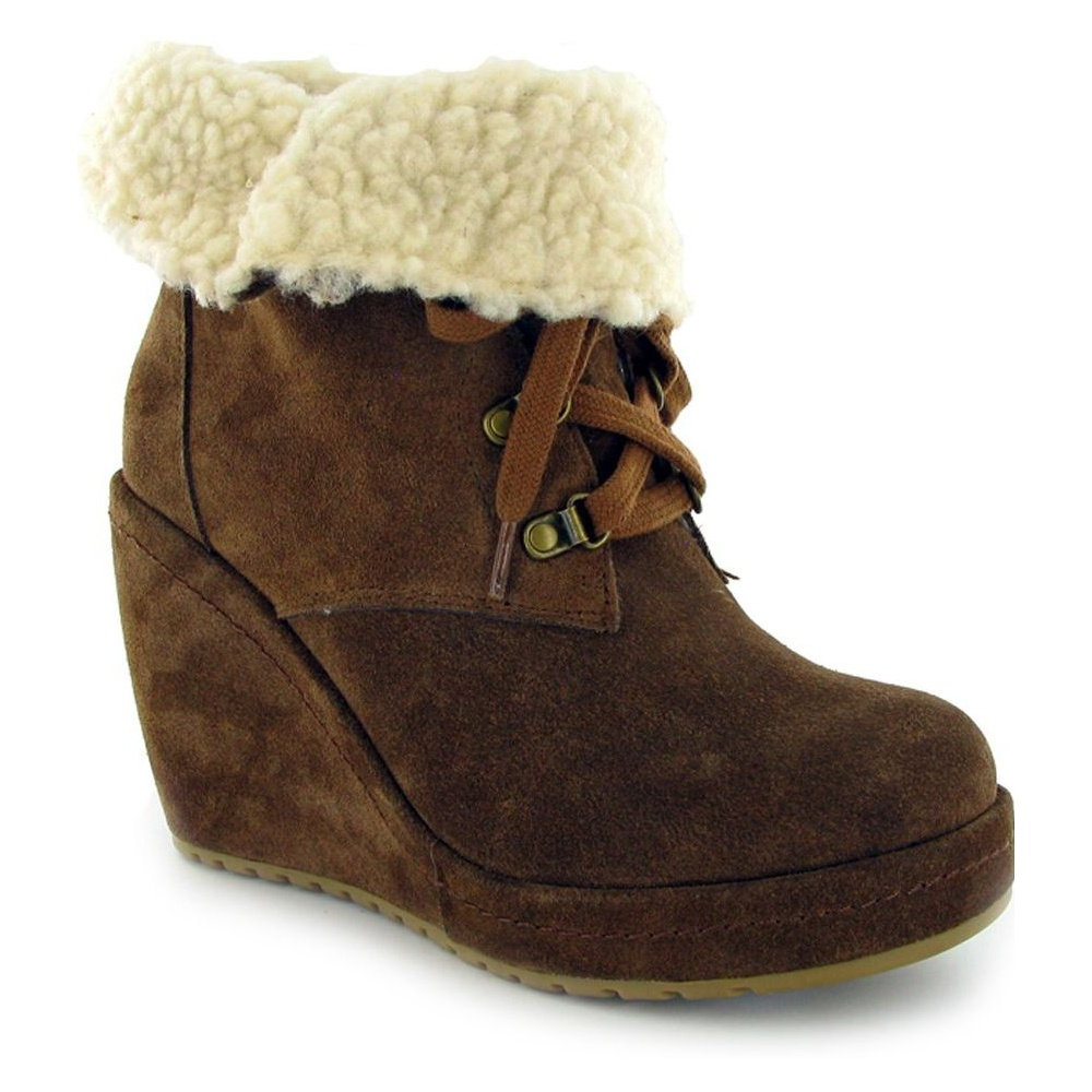 d065f4575ff Rocketdog Rocket Dog Barney Suede Chestnut (Z14) Womens .