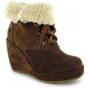 Rocket Dog Barney Suede Chestnut (Z14) Womens Boots