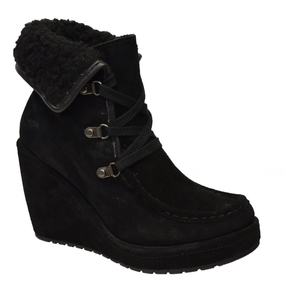 2be56c32c59 Rocketdog Rocket Dog Bonfire Suede Black Womens Boots - Rocketdog ...