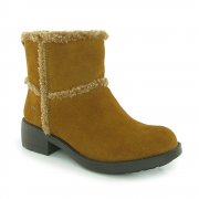 Rocket Dog Thurston Suede Chestnut / Whiskey (Z23) Womens Boots