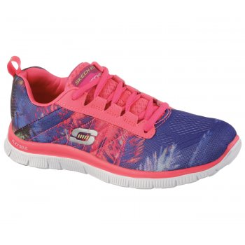 Skechers Flex Trade Winds Coral (N107) 12056/CRL Womens Trainers