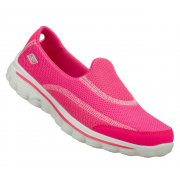 Skechers Go Walk 2 Hot Pink (N6) 13590 Womens Slip On