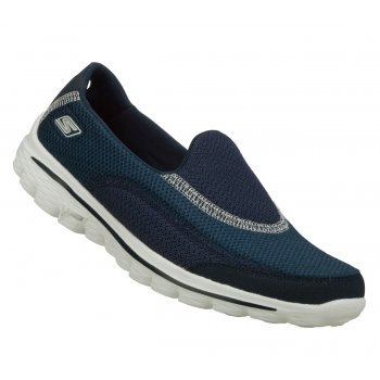 Skechers Go Walk 2 Navy (N13) Womens Slip On