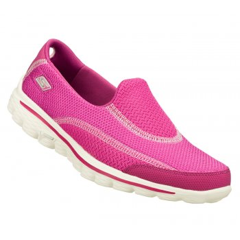 Skechers Go Walk 2 Spark Raspberry (N53 / Z-19) 13591 Womens Slip On