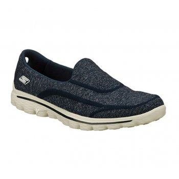 Skechers Go Walk 2 Super Sock Navy / Gray (Z6) 13955 Womens Slip On