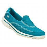 Skechers Go Walk 2 Turq (N45 / Z109) Womens Slip On