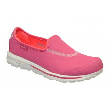 Skechers Go Walk Extend Hot Pink (Z28) 13771/HPK Womens Slip On