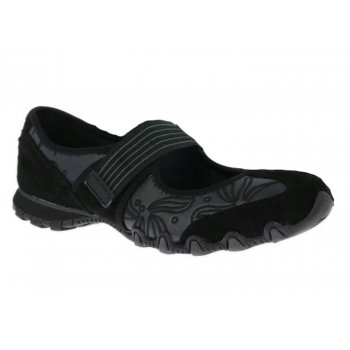 Skechers Biker Pearl Pop Black (F8) 99999771/BLK Womens Pumps