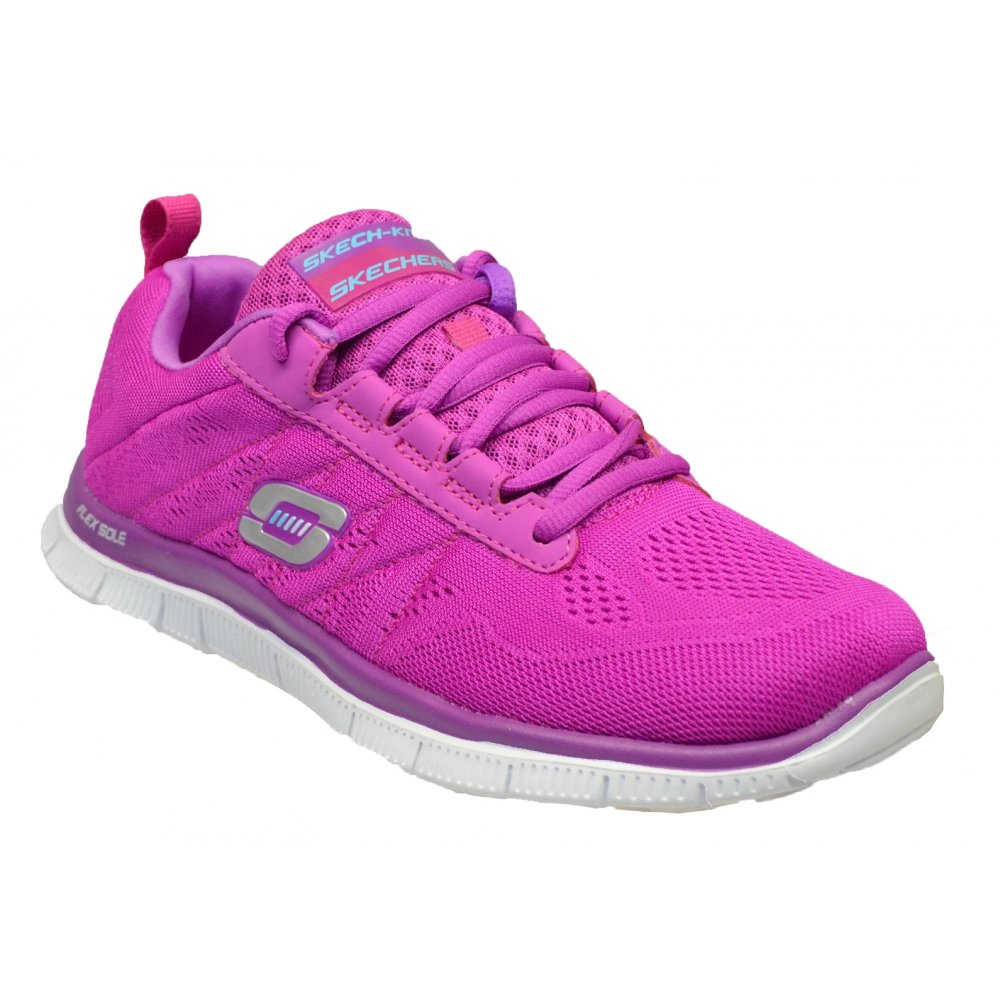 skechers skechers flex appeal sweet spot pink purple n4. Black Bedroom Furniture Sets. Home Design Ideas