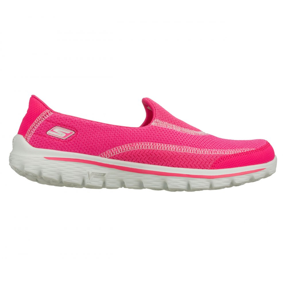 f7441952c8f skechers go walk 2 hot pink sale   OFF64% Discounted