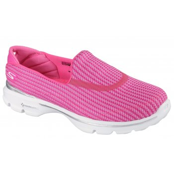 Skechers Go Walk 3 Hot Pink (P12) 13980 / HPK Womens Slip On