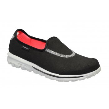Skechers Go Walk Extend Black / White (Z23) 13771/BKW Womens Slip On