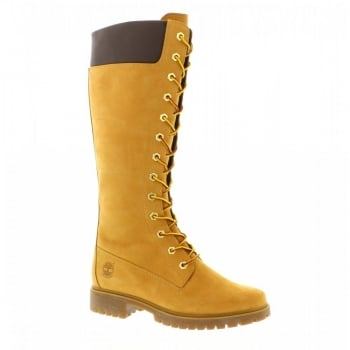 Timberland 14 Inch Premium Wheat (Z13) 8633A Womens Boots