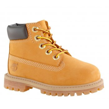 Timberland 6 Inch PREM Toddlers 12809 / Youths 12709 Wheat (Z26) Nubuck Boots