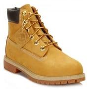 Timberland 6 Inch Premimum Juniors (K5 /Z-16) Nubuck Wheat 12909 Boots
