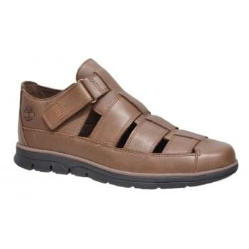 Timberland Bradsreet Fishrman Potting Soil Brown (Z112) A1PEF Mens Sandals
