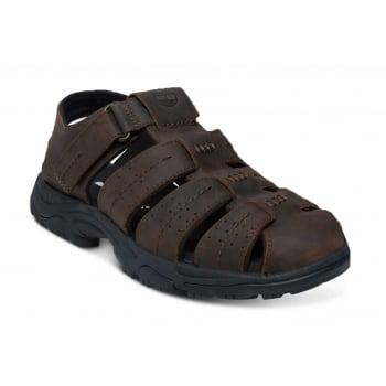 Timberland Crawley Fishrman Dark Brown (A2) A14YY Mens Sandals