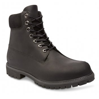 Timberland EK 6 Inch Premium Leather Black (SC-D3) 10054 Mens Boots