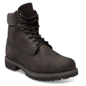 Timberland EK 6 Inch Premium Nubuck Black (N51a) 10073 Mens Boots