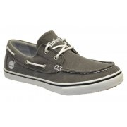 Timberland EK OX NMRKT Canvas Grey / White (N17a) 6150A Mens Boat Shoes
