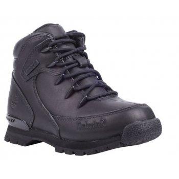 Timberland Timberland Euro Rock Hiker Juniors Black / Black (Z159) 6499R Boots