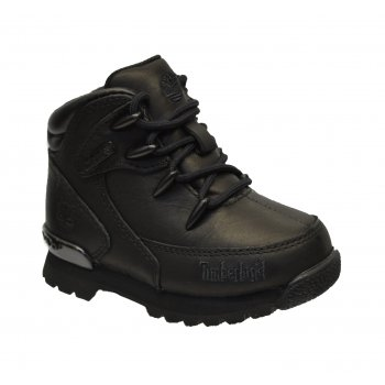 Timberland Euro Rock Hiker Toddlers 6489R / Youth 6479R Black (F8) Boots
