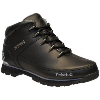 Timberland Euro Sprint Hiker Black (B2 / Z114 ) A17JR Mens Boots