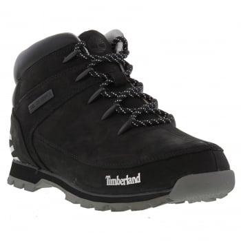 Timberland Euro Sprint Hiker Black (N89) A18DM Mens Boots