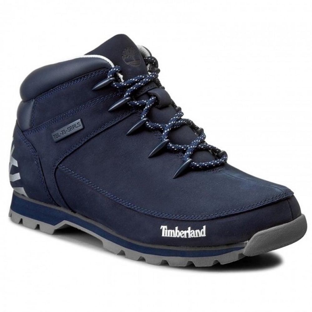 65df63aeb42 Timberland Timberland Euro Sprint Hiker Navy Blue (Z25) A18F7 Mens ...
