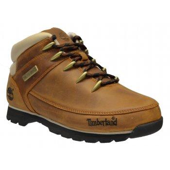 Timberland Euro Sprint Hiker Nubuck Brown (B21 / Z27) A121K Mens Boots