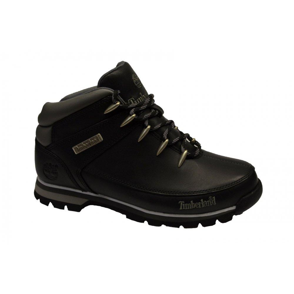 mens timberland black euro sprint tree hiker boots