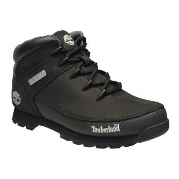 Timberland Euro Sprint Nubuck Black (N15) 6361R Mens Midi Boots