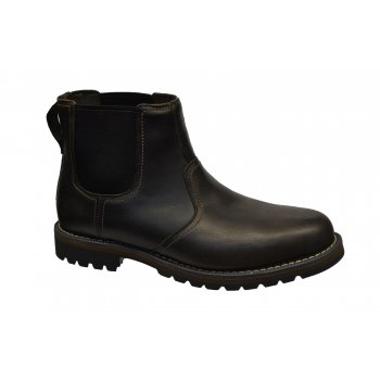 Timberland Larchment Chelsea Leather Dark Brown (GD2) 9706A Mens Boots