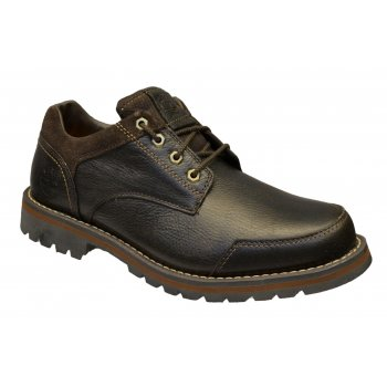 Timberland Larchment Ox Textured Leather Dk Brown (N106) 9702A Mens Shoes