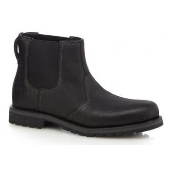 Timberland Larchmont Chelsea Leather Black (B7) A12F4 Mens Boots