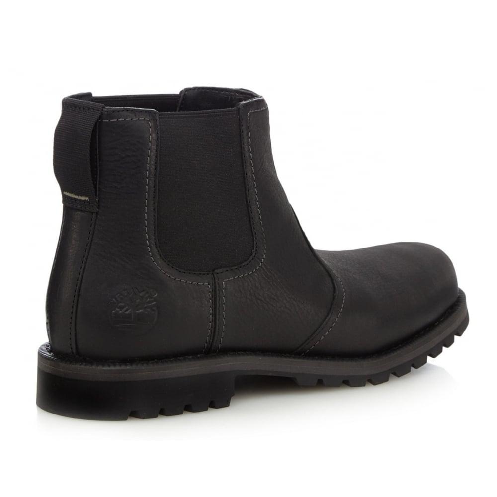 Timberland Timberland Larchmont Chelsea Leather Black (Z112