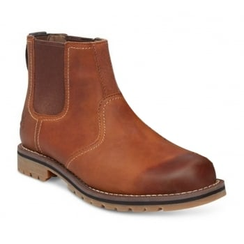 Timberland Larchmont Chelsea Leather Brown (N58) A13HZ Mens Boots