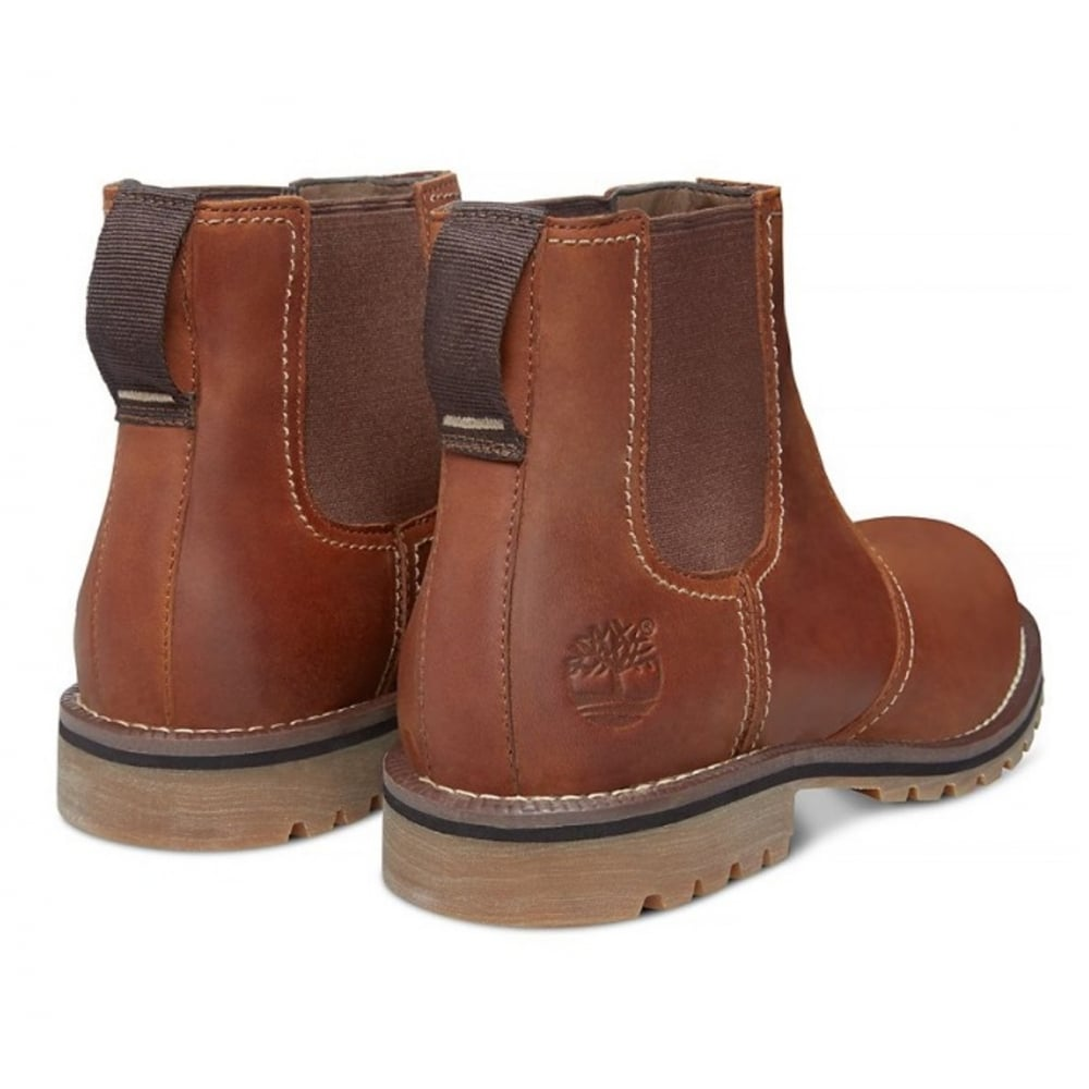 Timberland Timberland Larchmont Chelsea Leather Brown N58