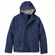 Timberland Mens (A7) Navy Mount Clay Wharf Bomber Hyvent Waterproof Jacket