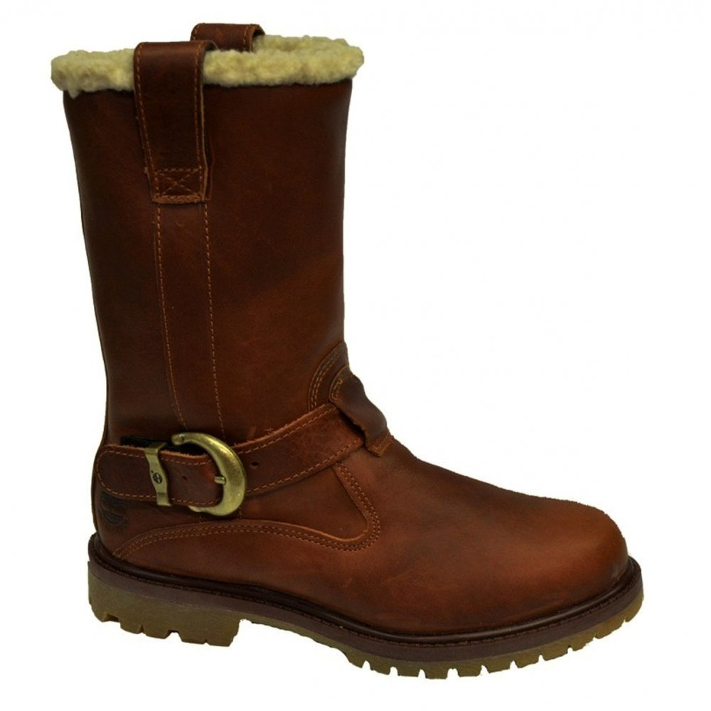 Timberland 8302R Nellie Pull On Womens Boots Dark Brown UK6