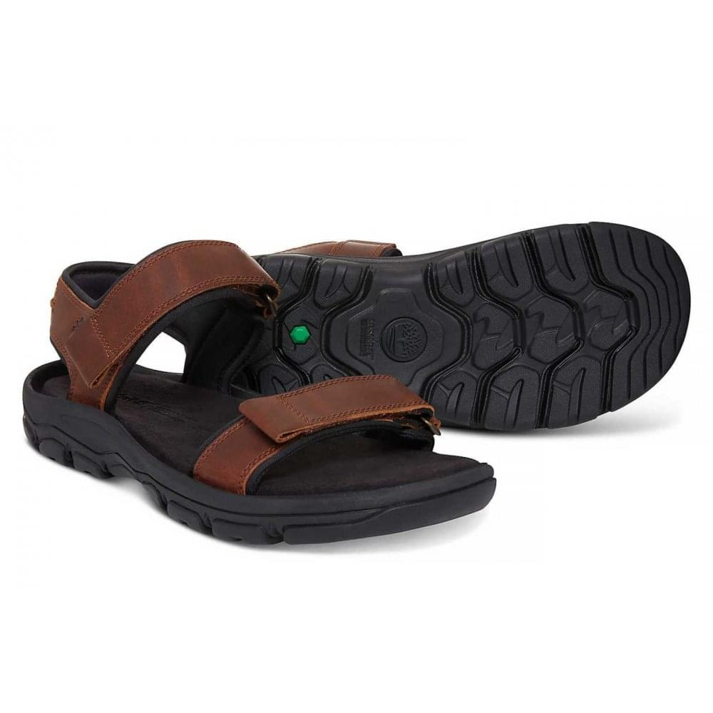 70435d77fe7d ... Timberland Roslindale 2-Strap Wheat Forty Brown (Z27) A1OWH Mens Sandals  ...